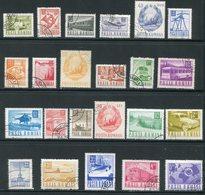 ROUMANIE- Y&T N°2345 à 2365- Oblitérés - 1948-.... Republieken
