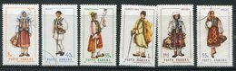 ROUMANIE- Y&T N°2434 à 2438 Et 2442- Oblitérés (costumes) - 1948-.... Republieken