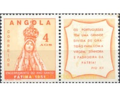 Ref. 282192 * MNH * - ANGOLA. 1951. CLOSING OF THE HOLY YEAR . CLAUSURA DEL AÑO SANTO - Angola