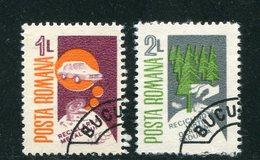 ROUMANIE- Y&T N°3724 Et 3725- Oblitérés - 1948-.... Republieken