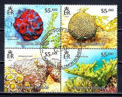 SALOMON CORAUX 2013 (353) N° Yvert 1415 à 1418 Oblitérés Used - Solomon Islands (1978-...)