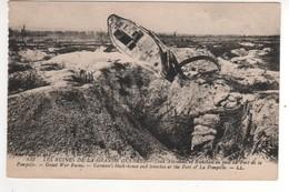 832 L Res Ruines De La Grande Guerre : Tank Allemand Et Tranchées Au Pied Du Fort De La Pompelle ,  Non écrite - Oorlog 1914-18