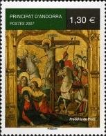ANDORRA FRANCESA 2007 -RETABLO DE PEDREL.LA  DE PRATS - 1 SELLO - Ongebruikt