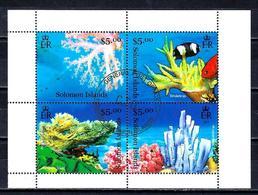 SALOMON CORAUX 2013 (354) N° Yvert 1411 à 1414 Oblitérés Used - Solomon Islands (1978-...)