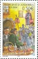 ANDORRA FRANCESA 2004 - ELS ENCANTS DE SANT ANTONI  - 1 SELLO - Ongebruikt