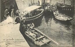 CPA - LE CROISIC -  Barques De Peche Au Port - Le Croisic