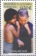 ANDORRA FRANCESA 2004 - NIÑOS DEL MUNDO - 1 SELLO - Ongebruikt