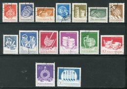 ROUMANIE- Y&T N°3418 à 3432- Oblitérés - 1948-.... Republieken