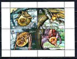 SALOMON CHAUVES-SOURIS 2012 (355) N° Yvert Non Répertorié Oblitérés Used - Solomon Islands (1978-...)