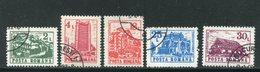 ROUMANIE- Y&T N°3966 à 3970- Oblitérés - 1948-.... Republieken