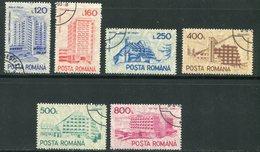 ROUMANIE- Y&T N°3976A à 3976F- Oblitérés - 1948-.... Republieken