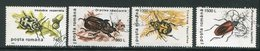 ROUMANIE- Y&T N°4315 à 4318- Oblitérés (insectes) - 1948-.... Republieken