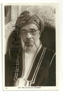 Tanzanie. H. H. The Sultan Of Zanzibar. Signature (???) Au Verso - Tanzanía