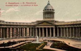 CPA - St PETERSBOURG - La Cathédrale De KASAN … - Russie