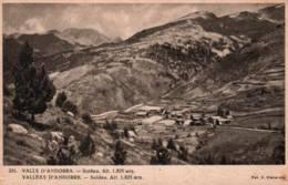 CPA - VALLEES D'ANDORRE - SOLDEU - Edition V.Claverol / N°205 - Andorra