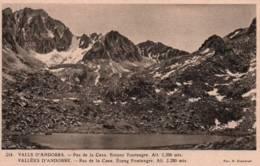 CPA - VALLEES D'ANDORRE - PAS De LA CASA - ETANG FONTNEGRE - Edition V.Claverol / N°214 - Andorra