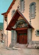 CPM - VALLEES D'ANDORRE - ANDORRA LA VELLA - Porte De L'Eglise Paroissiale - Edition Agata - Andorra