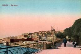 CPA - MALTE - BARRACCA ... - Malta