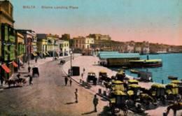 CPA - MALTE - SLIEMA LANDING PLACE ... - Malta