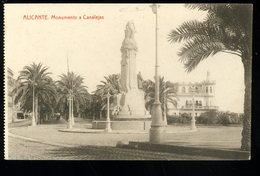Alicante Monumento A Canelejas Thomas - Alicante
