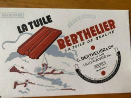 2 BUVARD LA TUILE BERTHELIER - Papel Secante