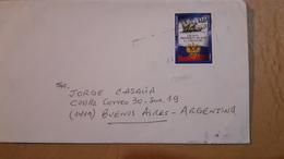 Enveloppe De L'Uruguay Diffusée Avec Un Timbre De Navire Moderne - Uruguay