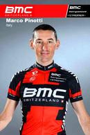 CARTE CYCLISME MARCO PINOTTI TEAM BMC 2013 SEIE BUSTE - Wielrennen