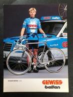 Evgueni Berzin - Gewiss Ballan - 1994 - Carte / Card - Cyclists - Cyclisme - Ciclismo -wielrennen - Cycling