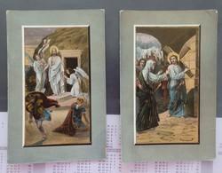 Christianisme - Religion - Jésus - Lot De 2 Cartes Postales - 2 Scans - Jesus