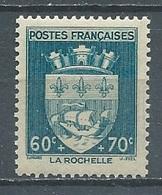 France YT N°554 Armoiries De La Rochelle Neuf ** - France