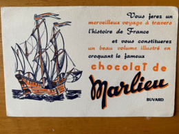 1 BUVARD CHOCOLAT MARLIEU - Cacao