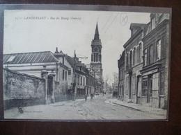 LAMBERSART  Rue Du Bourg (entrée)  édit:  L.S. A Hautmont - Lambersart