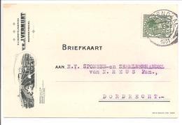 Veth.Briefkaart Met Reclame-bijdruk.Vermunt Roosendaal - Briefe U. Dokumente