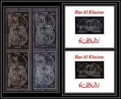 Ras Al Khaima - 666/ Bloc AB 103 B 566 A/B Apollo 15 OR Argent Gold Silver Stamp Espace Space Neuf ** MNH - Azië