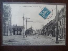 LAMBERSART  Contour De L'église  édit:  L.S. A Hautmont - Lambersart