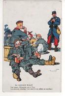 Satyrique : De L'agence Wolff : Les Troupes Allemandes Sont à Paris , Les Provisions Abondent .... écrite Le 29/10/15 - Guerre 1914-18