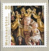 2015 Austria Mi. 3240 **MNH Mit Nr 15 Maria Mit Kind; Mittelschrein Des Flügelaltars Der Pfarrkirche St. Remigius, - 1945-.... 2. Republik