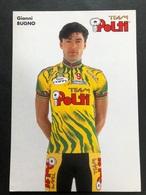 Gianni Bugno - Polti - 1994 - Carte / Card - Cyclists - Cyclisme - Ciclismo -wielrennen - Radsport