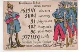 Satyrique  : Guillaume II A Dit : Nous Avons ..... .... écrite Le 11/10/15 - Guerre 1914-18