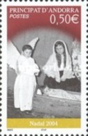 ANDORRA FRANCESA 2004 - NAVIDAD - NADAL - NOEL - CHRISTMAS  - YVERT Nº  603 - Ongebruikt