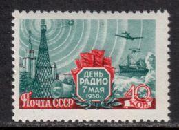 Russia / Soviet Union 1958 Mi# 2082 A ** MNH - Radio Day / Space - Ruimtevaart
