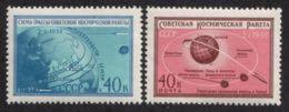 Russia / Soviet Union 1959 Mi# 2219-2220 ** MNH - Luna 1 / Space - Ruimtevaart