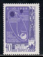 Russia / Soviet Union 1959 Mi# 2273 ** MNH - Flight Of Luna 3 Around The Moon / Space - Ruimtevaart