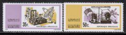 Rwanda 1974 Mi# 636, 638 A ** MNH - Short Set - Guglielmo Marconi / Space - Ruimtevaart