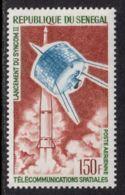 Senegal 1964 Mi# 290 ** MNH - Launching Of Syncom 2 / Space - Ruimtevaart