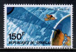 Senegal 1973 Mi# 523 ** MNH - Short Set - Total Solar Eclipse Over Africa / Space - Ruimtevaart