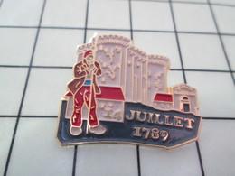 516c Pin's Pins / Beau Et Rare / THEME : AUTRES / 14 JUILLET 1789 PRISE DE LA BASTILLE Valda ? - Pin's