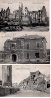 Ieper 13 POSTKAARTEN ! 1914-1919 - Ieper