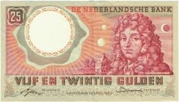 De Nederlandsche Bank. Vijf En Twintig (25) Gulden. 10 Avril 1955. - [2] 1815-… : Kingdom Of The Netherlands