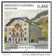 ANDORRA FRANCESA 2002 - HOTEL ROSALEDA - YVERT Nº  567 - Ongebruikt